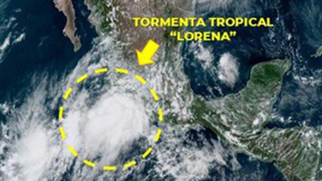"""Activan plan DN-III por tormenta tropical """"Lorena"""""""