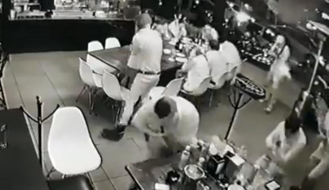 Caso Uruapan: captan el momento exacto del ataque en bar California Grill