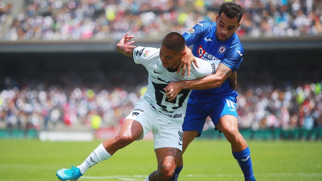 Pumas y Cruz Azul dan un emocionante empate en CU