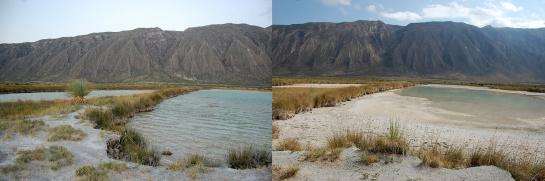 Laguna Intermedia de Churince en Cuatrociénegas