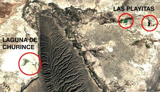 Laguna de Churince y Las Playitas en el Valle de Cuatrociénegas