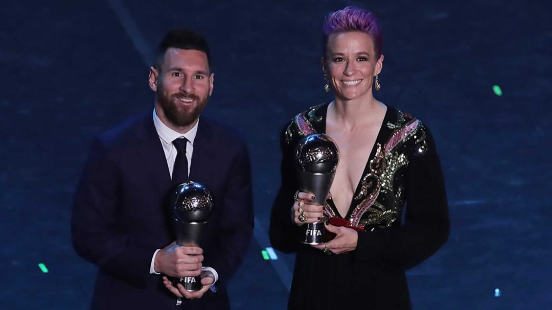 Messi y Rapinoe se llevan los premios The Best