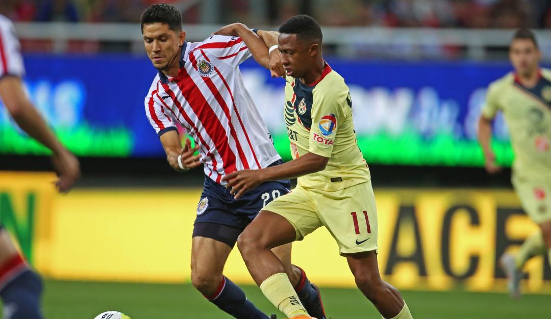 América y Chivas se verán las caras en una edición más del Clásico Nacional