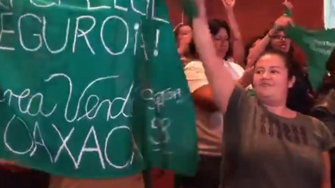 Avala Congreso de Oaxaca en lo general la despenalización del aborto