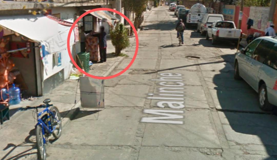 """Google Maps capta """"accidente"""" de una mujer con sus tortillas"""