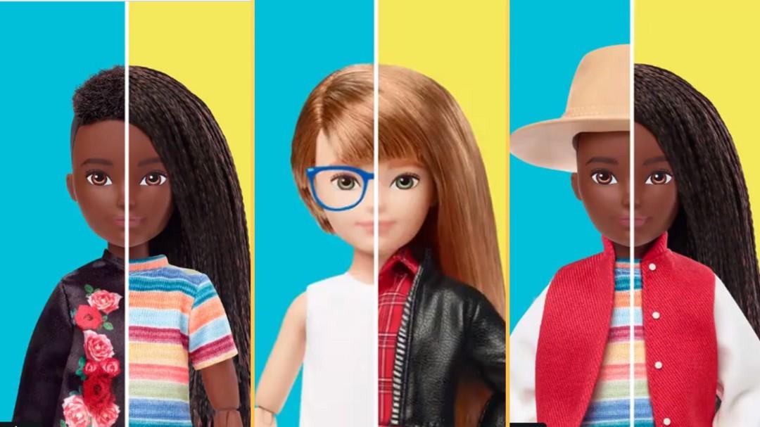 "Mattel lanza línea de juguetes inclusiva ""Mundo creable"" sin géneros"