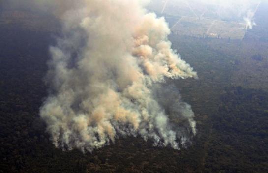 El país que más ha sufrido por los incendios forestales ha sido Bolivia
