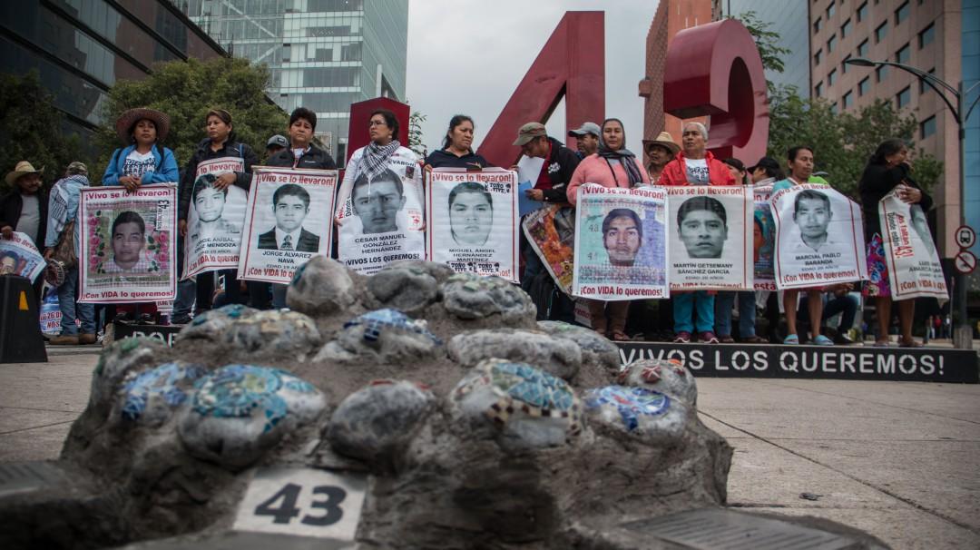 Ayotzinapa: Así se ha vivido la desaparición de los 43 normalistas en 5 años