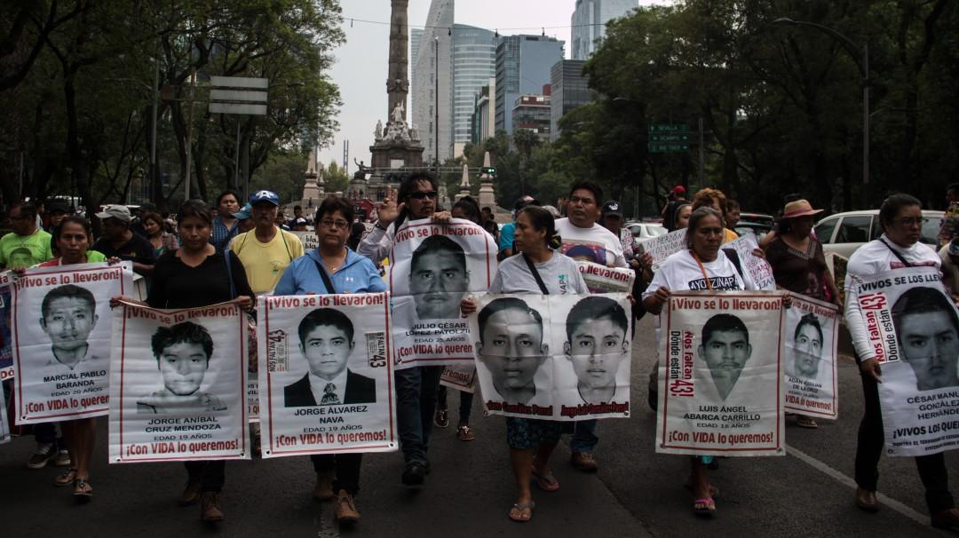 Alistan operativo por marcha de los 5 años de la desaparición de los 43