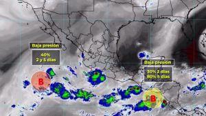 Lluvias afectarán al Pacífico Sur, principalmente: Conagua