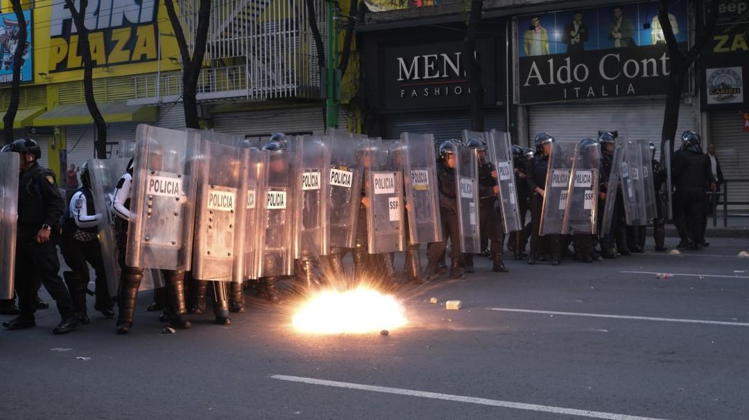 Preparan nuevo protocolo de seguridad para marchas