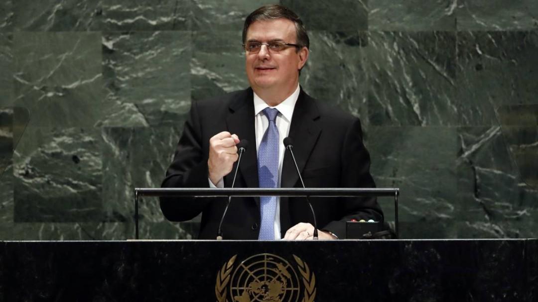 México se mantiene por la no intervención y contra bloqueo a Cuba: Ebrard