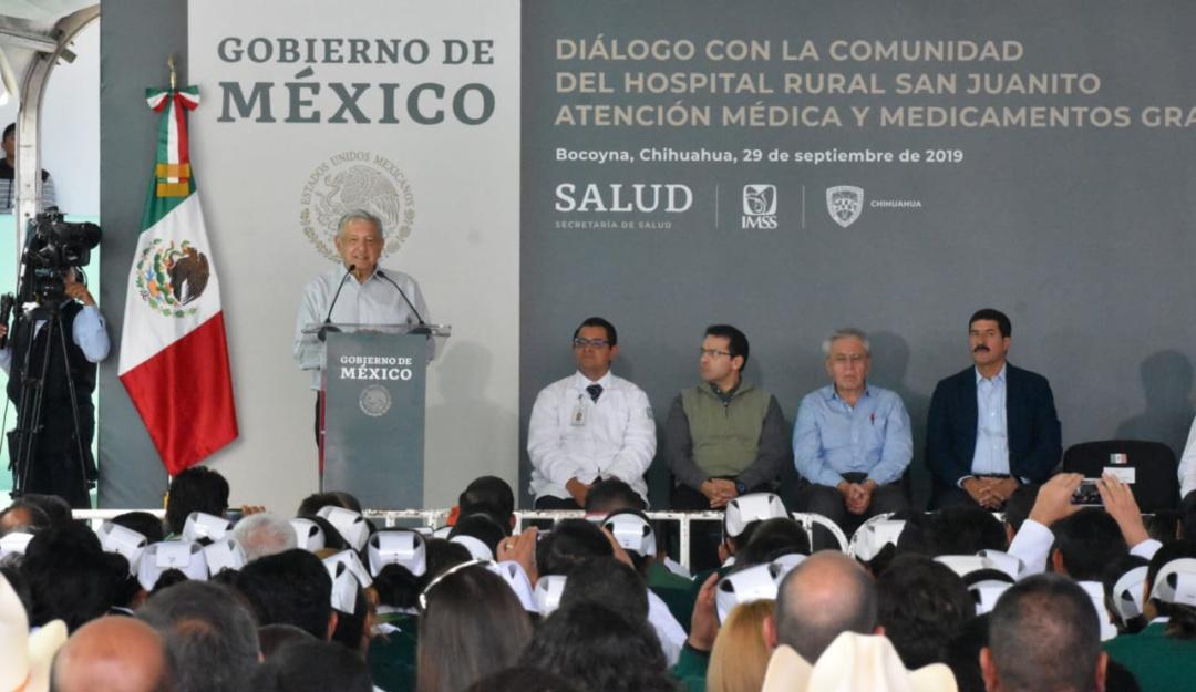 Reitera López Obrador que llevará internet gratis a comunidades apartadas