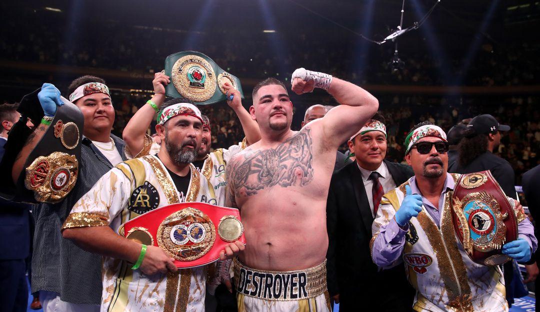 Andy Ruiz acepta invitación de México para pelear en Juegos Olímpicos