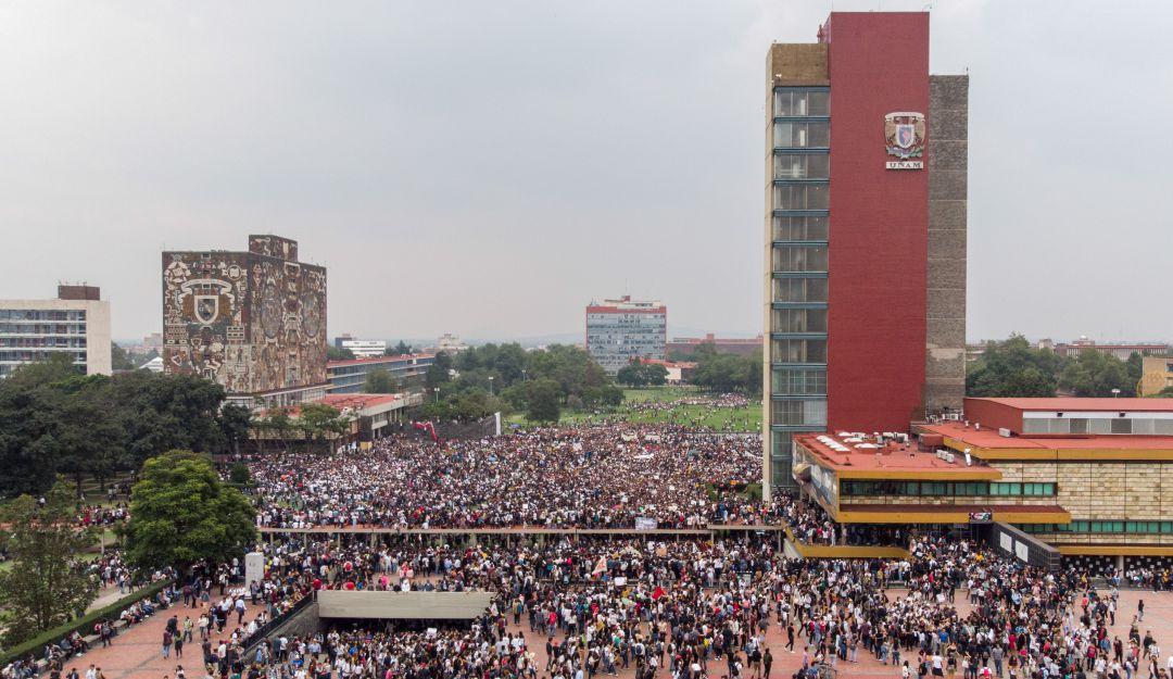 Escuelas de la UNAM en paro este 2 de octubre