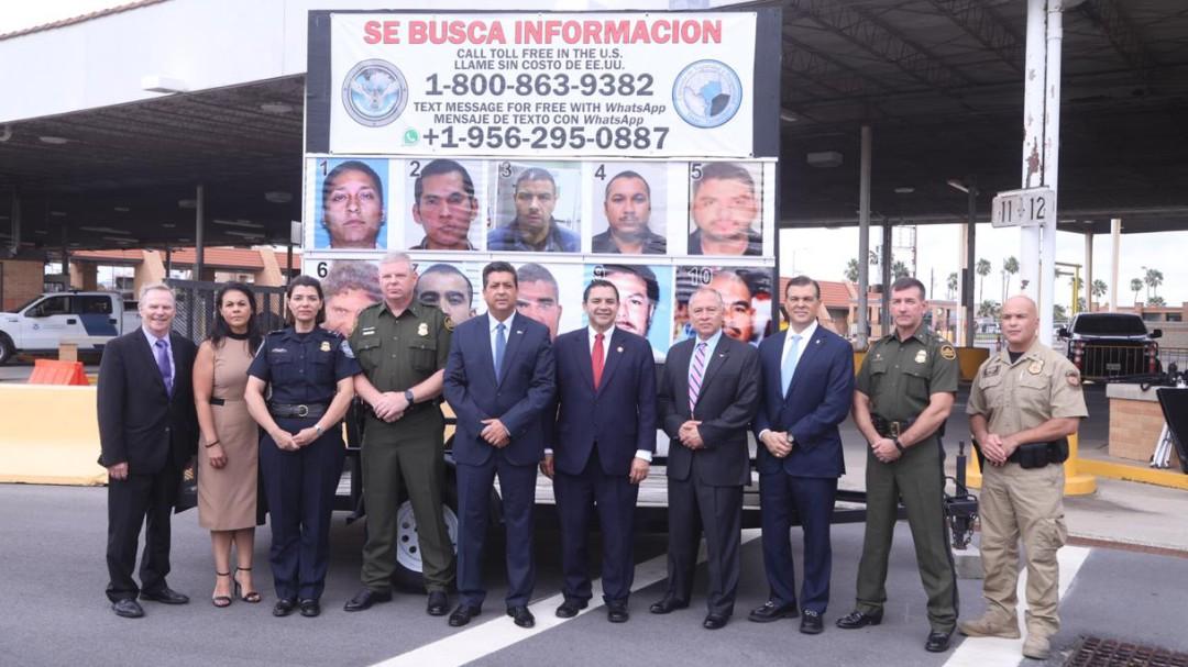 """Tamaulipas y agencias federales de EU presentan campaña """"Se Busca"""""""