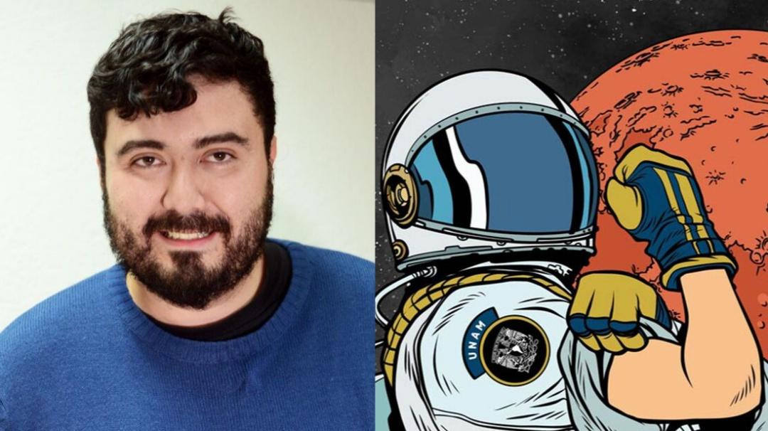 Alumno de la UNAM comandará tripulación análoga a Marte