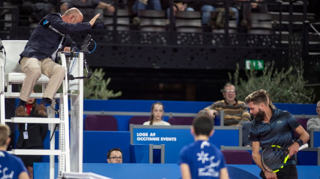 Suspenden a juez Gianluca Moscarella por acoso en un partido de tenis