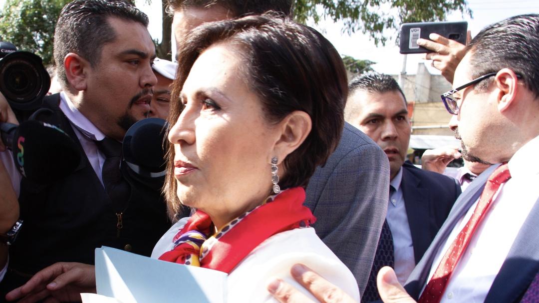 Semovi niega haber confirmado autenticidad de licencia de Rosario Robles