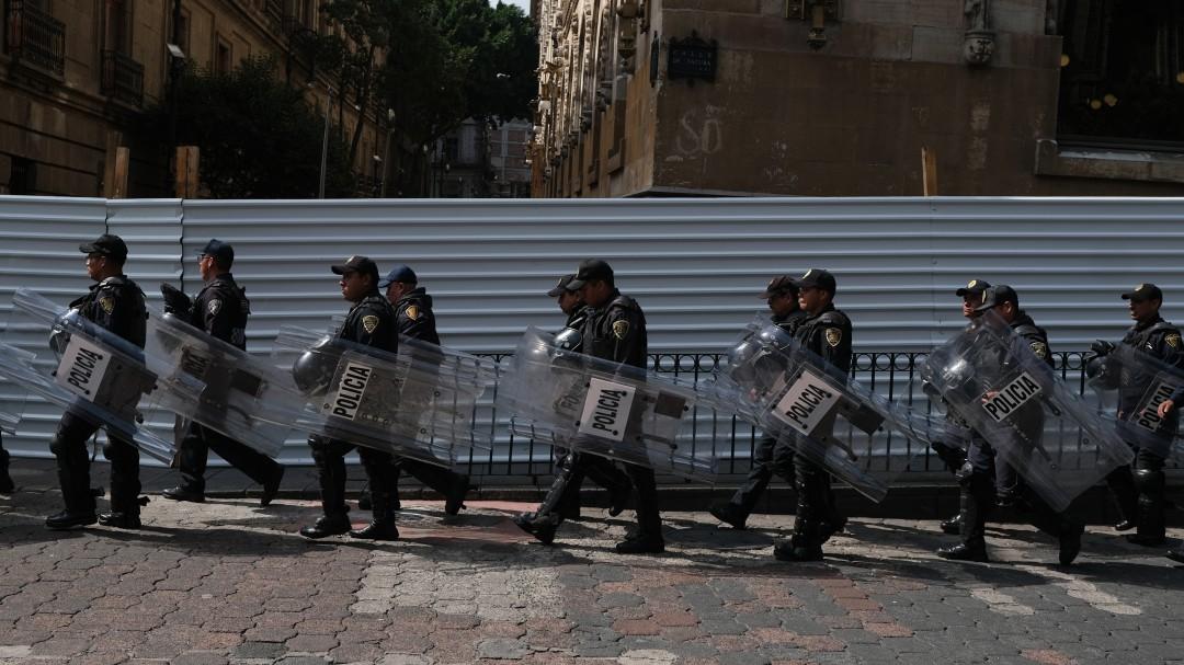 Alista SSC operativo de seguridad por marcha del 2 de octubre