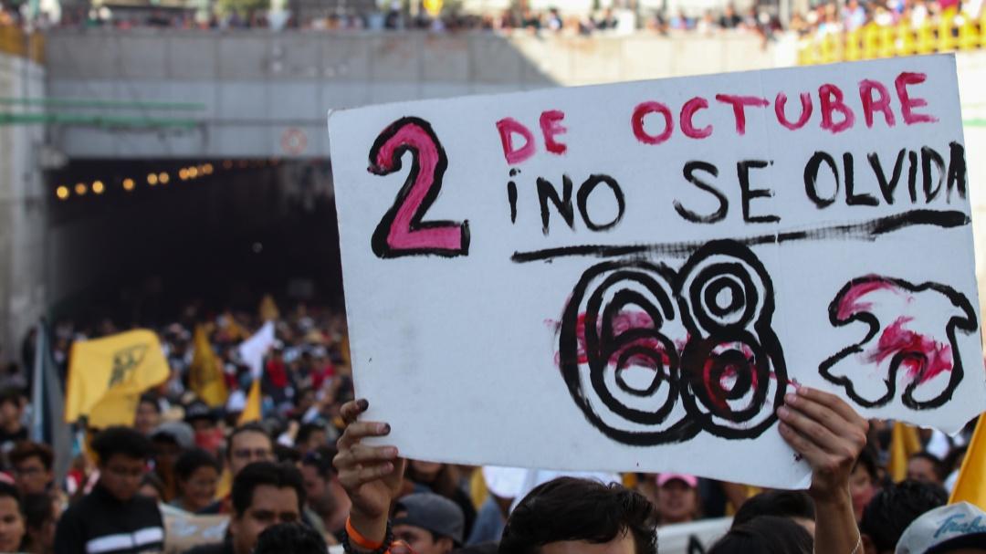 14 heridos, el saldo de la marcha para conmemorar matanza del 2 de octubre