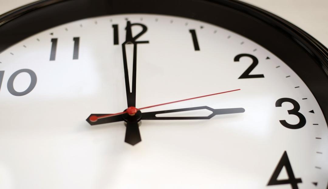 Cambio de horario en octubre 2019 ¿Se adelanta o atrasa el reloj?