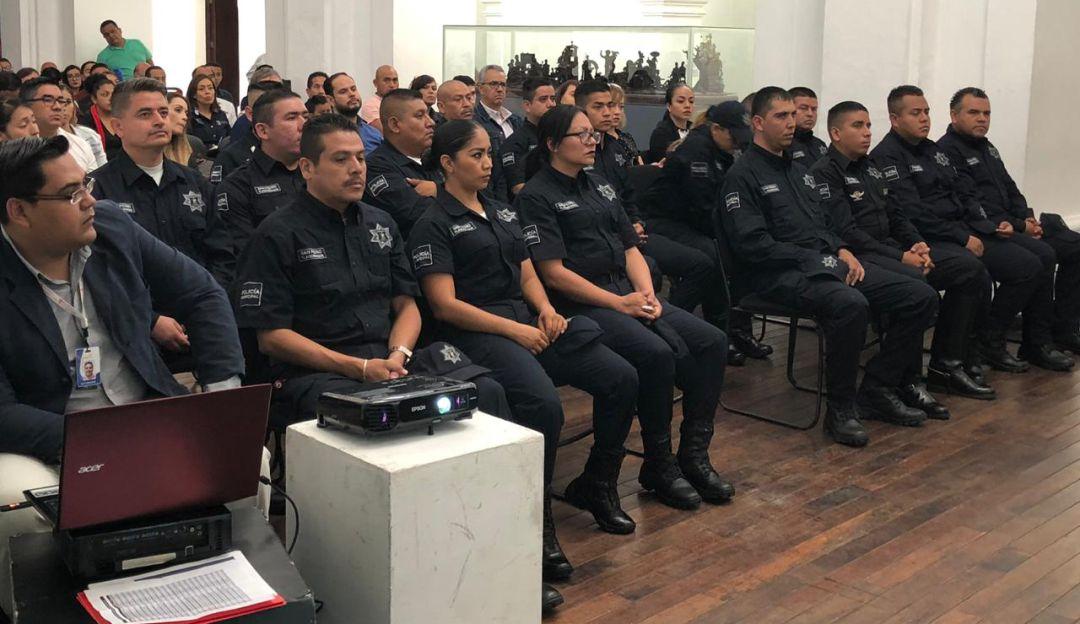 Reconocen a policías de San Pedro Tlaquepaque
