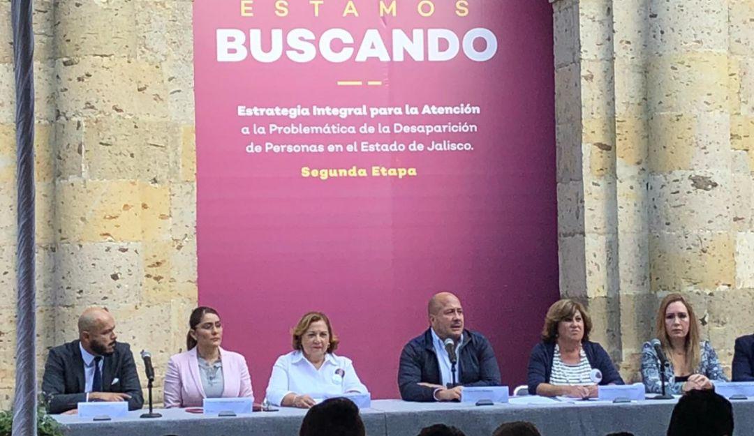 Anuncia gobernador envío de tres iniciativas sobre personas desaparecidas
