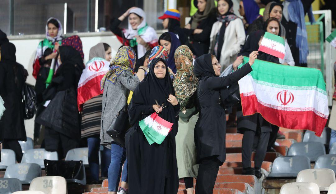 Las mujeres en Irán ya pudieron entrar a un estadio