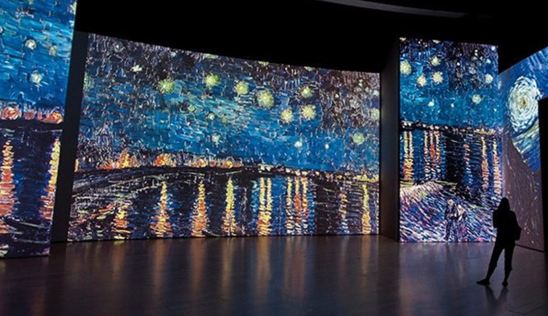 La exposición Van Gogh Alive llega a la CDMX este 2020