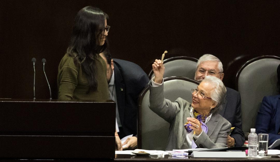 Titular de Gobernación compareció ante pleno de Cámara de Diputados