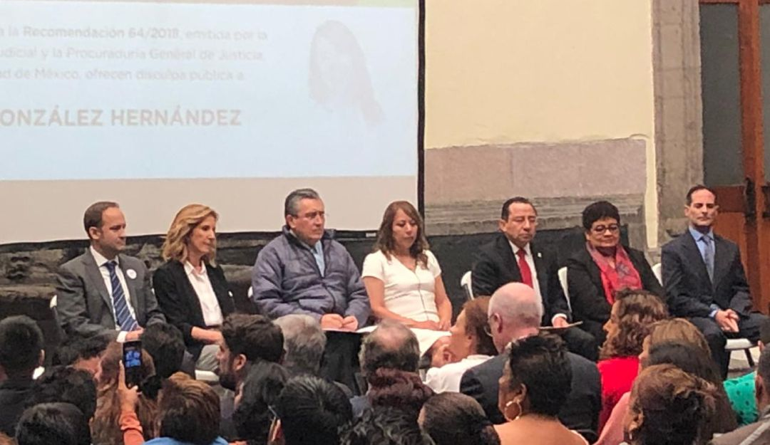 PGJ ofrece disculpas públicas a Lorena González por caso Fernando Martí