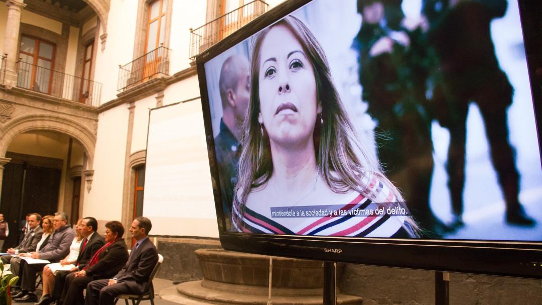 Es una desgracia lo que ocurre en México: María Elena Morera