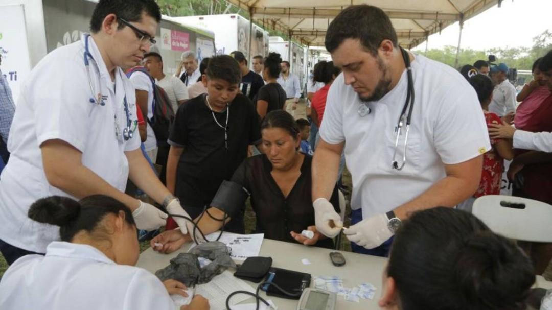 Gobierno de Tamaulipas realiza acciones de atención humanitaria a migrantes