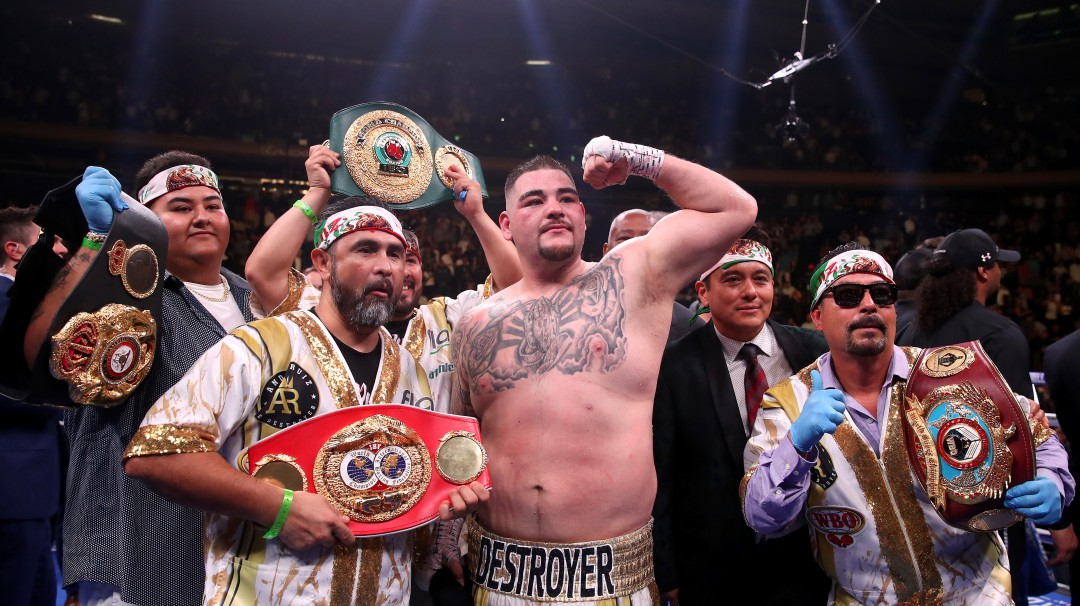 Andy Ruiz declinó pelear por México en Tokyo 2020