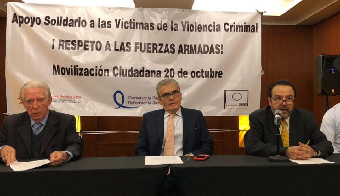 Organismo civil convoca a marcha por cambio de estrategia de seguridad