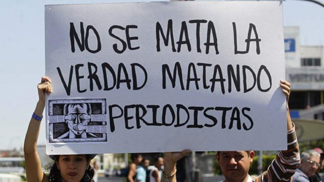SOPITAS: México uno de los países más peligrosos para ser periodista