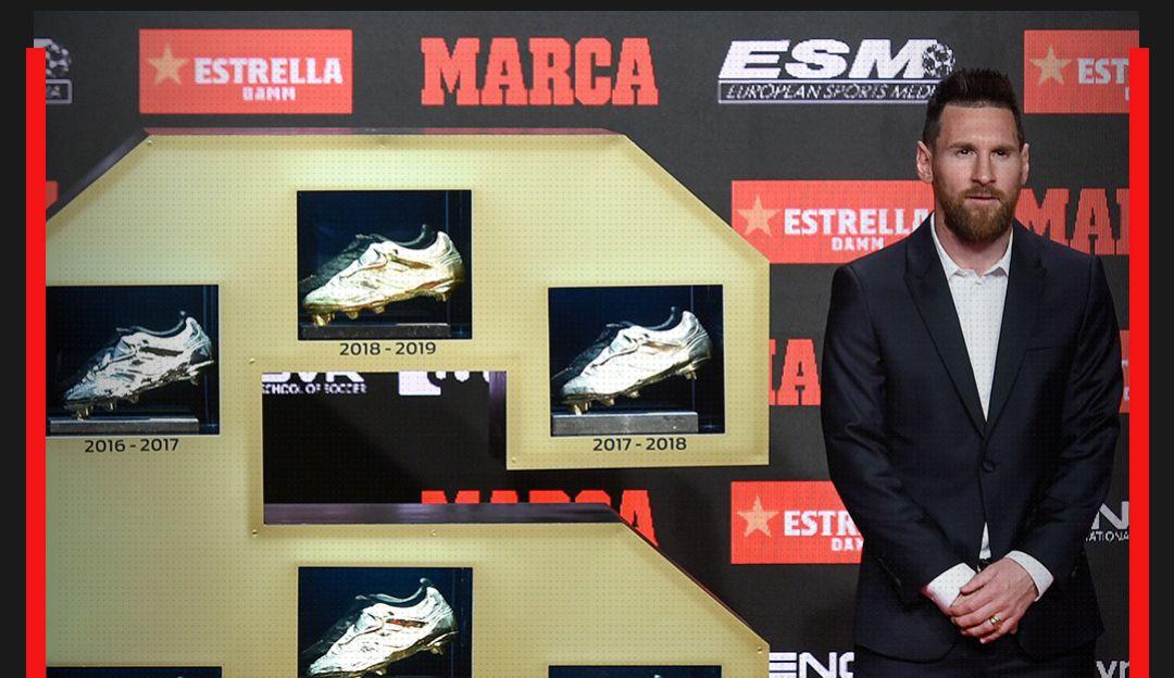 Lionel Messi ganó su sexta Bota de Oro