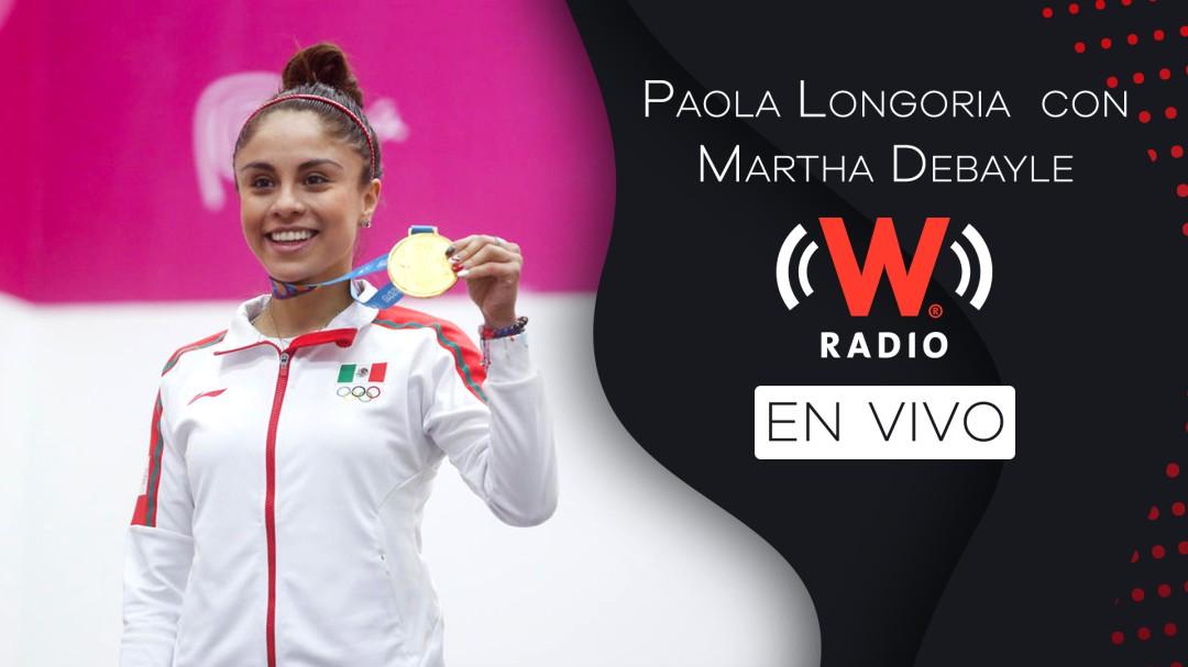Clases de ráquetbol con Paola Longoria