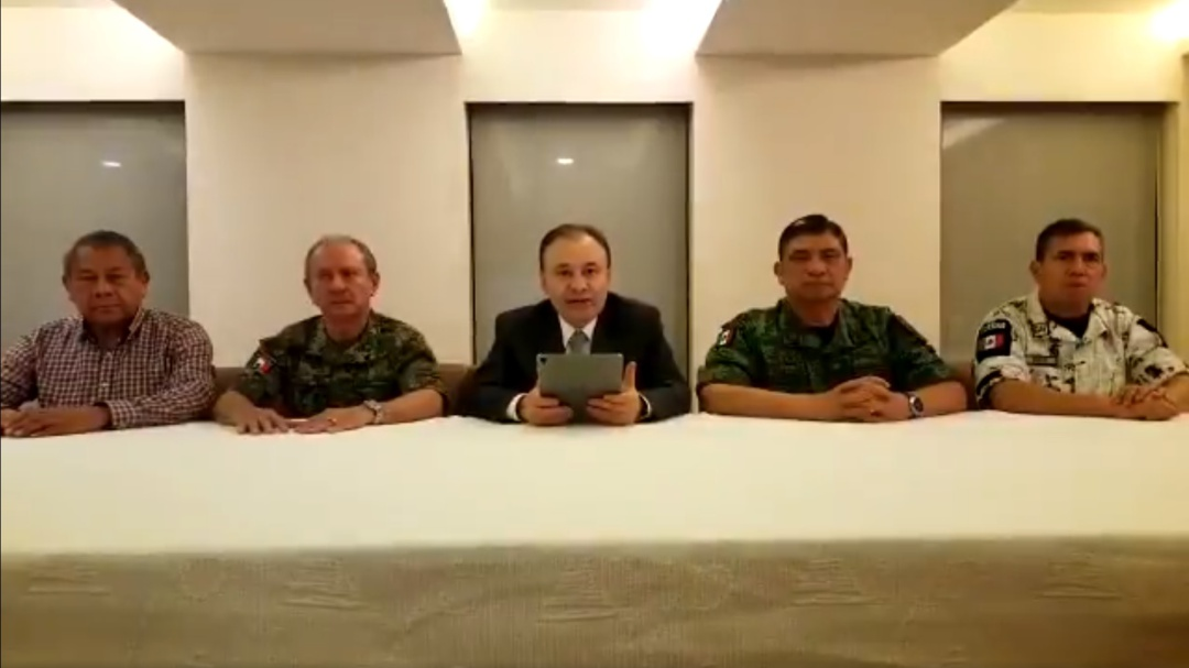 Gabinete de Seguridad viaja a Culiacán tras jornada de violencia