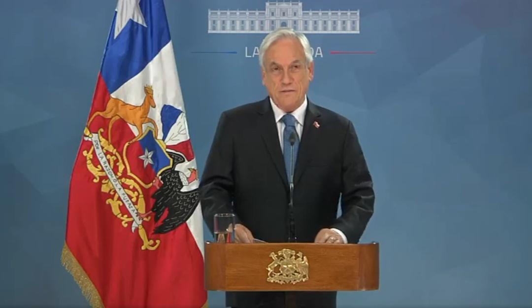 Piñera propone 'acuerdo social' tras cuarta jornada de protestas en Chile
