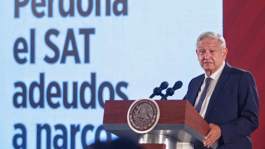 No se condonaron impuestos al narco, aclara López Obrador