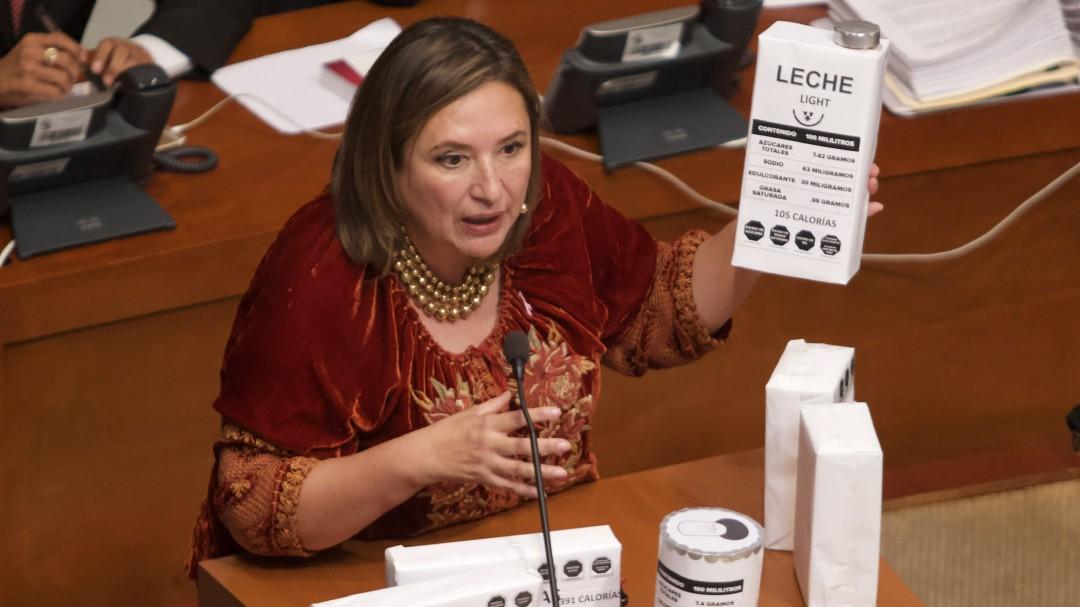 Avala Senado etiquetado frontal en alimentos y bebidas