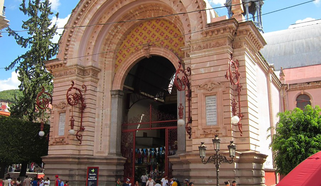 El Mercado Hidalgo en Guanajuato