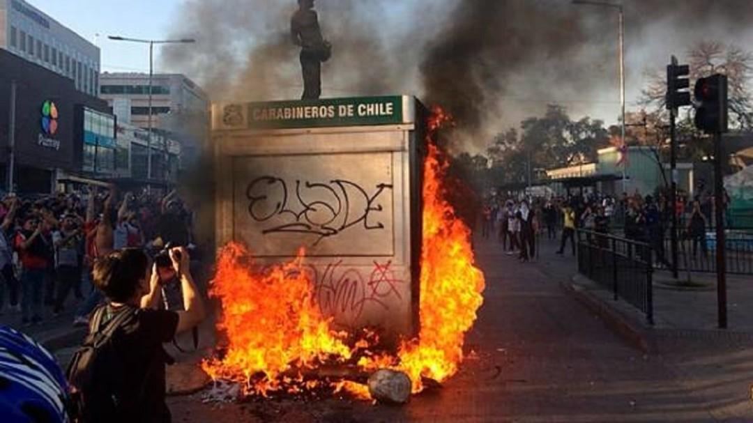 Chile bajo toque de queda, nuevamente