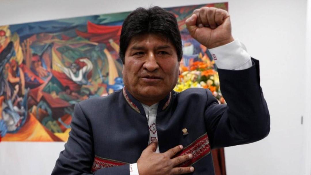 Evo Morales gana las elecciones en Bolivia