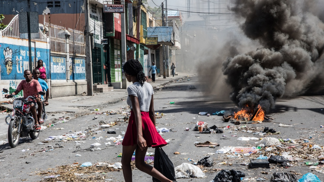 Haití entra en su octava semana de protestas contra su presidente