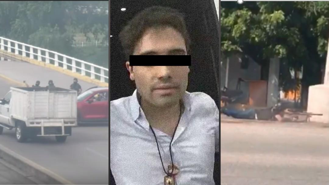 Los videos que no habíamos visto del operativo contra Ovidio Guzmán