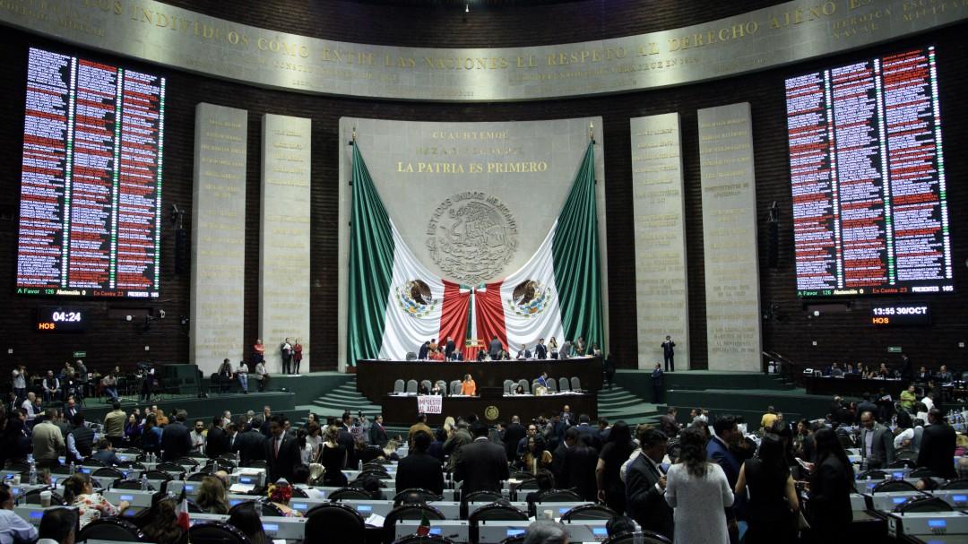 Diputados aprueban en lo general cambios del Senado al paquete fiscal