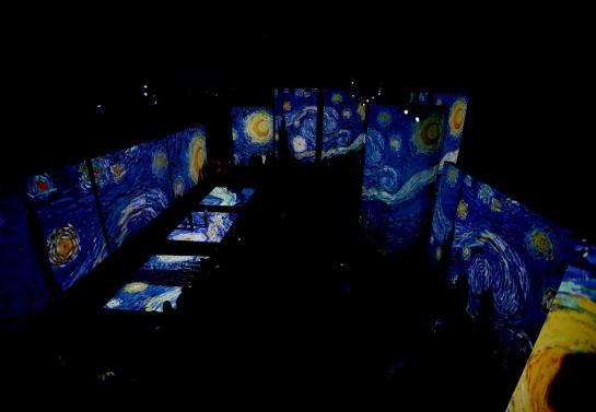 El formato de Van Gogh The Alive Experience para apreciar las obras es muy distinto al tradicional. Será interactivo y multisensorial